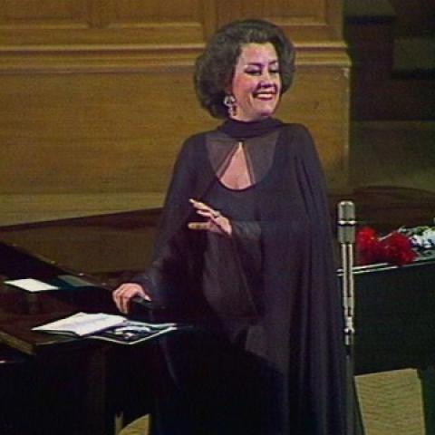 Концерт народной артистки СССР Елены Образцовой