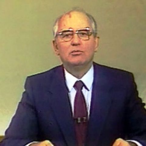Новогоднее обращение М.С. Горбачева