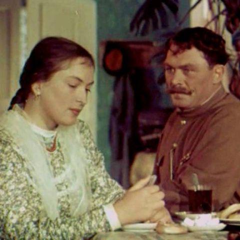 Клара Лучко и Сергей Лукьянов