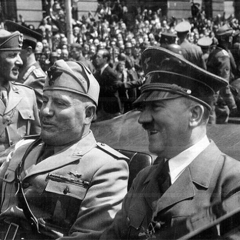 Тело Муссолини