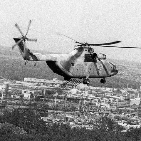 В небе Чернобыля