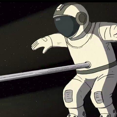 Он не может жить без космоса